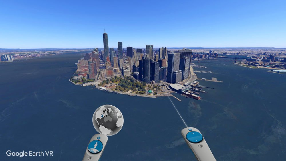 Experience Earth Like Never Before with Google Earth VR ... on world map, satellite map, google us map, from google to map, google maps car, google latitude, street view map, flat earth map, virtual earth map, europe map, google moon map, google street view, google sky, google africa map, gis map, the earth map, bing map, google maps italy, earth view map, united states map,